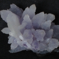 Amethyst With Calcite & Chalcedony